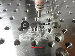 """1//4/"""" CNC  drag engraving tool bit Mill router best quality available"""