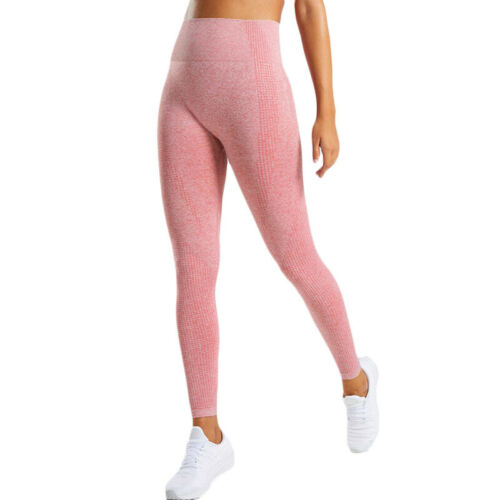 Womens Yoga Pants Fitness Running Sports Training Leggings High Waist Trousers