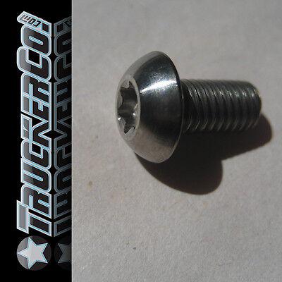 1single TruckerCo Ti titanium Bolt metric M5 x 10mm T25 torx button head screw
