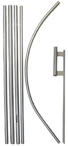 (pack De 3) 4.9m Aluminium Publicité Windless Bannière Pôle 76.2cm Piquet Set Ferme En Structure