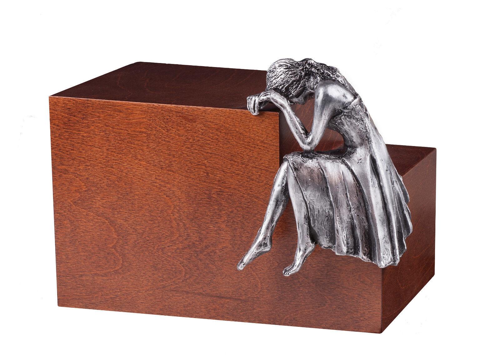 Unico di design Urna NOSTALGIA ANGELO cremazione per ceneri - adulto