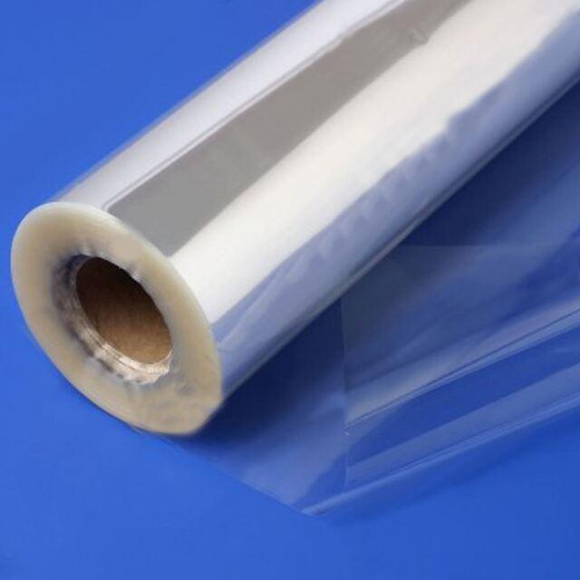 100mX80cm Wide Plain Clear Florist Craft Cellophane Roll Wrap Hamper 20 Micron