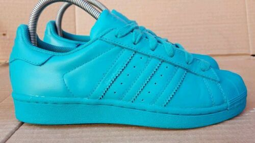 Ii Superstar Toe Pharrell Lab Williams Shell Trainers Adidas Uk Size 5 Green 15dqwU1