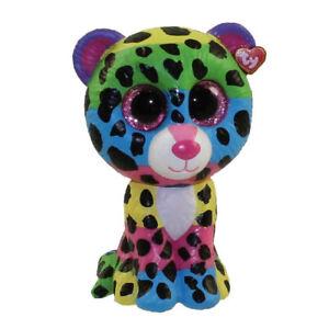 TY Beanie Boos Mini Boo Figure - DOTTY Rainbow Leopard Mystery ... 73c0d497d1f1