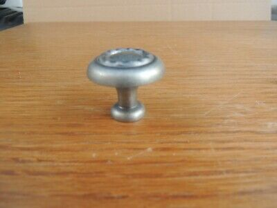 *10 Pack* Cosmas Cabinet Hardware Weathered Nickel Round Cabinet Knobs #5181WN