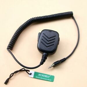 For-Icom-Radio-Handheld-Hand-Shoulder-Mic-with-Speaker-IC-A1-IC-A2-IC-A20-New