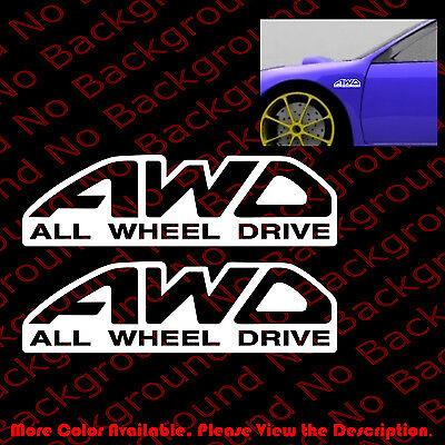 ONE PAIR x TOW HOOK ARROW Racing Vinyl DIE CUT Decal Sticker Car Window RC030