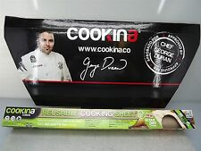 Cookina CUISINE-BAKING COOKING SHEET Reusable NON-STICK *WATCH VIDEO*