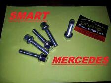 x6 Bullone Ruota per auto SFERICO M 12x1,50 chiave 17 Lungh 60 in acciaio 10.9