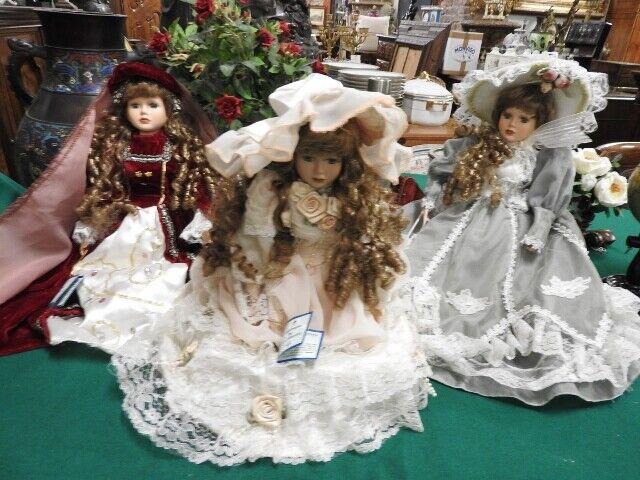 Illusions Muñecas Colección de Porcelana Francia Principesche Poupe ' Dolls
