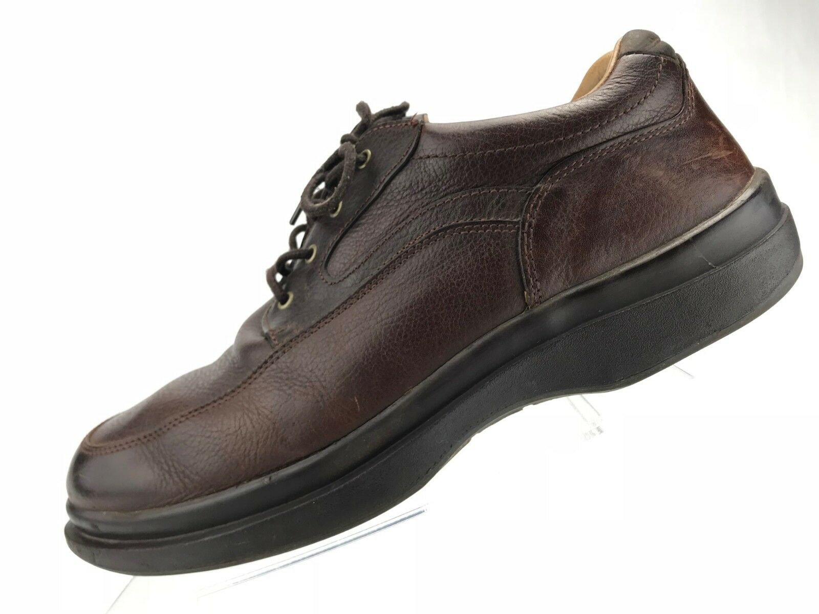 Red Wing Oxford Apron Toe - Brown Casual Working Slip Resistant Men's Size 13 D