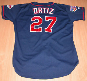 buy online 1e235 f9225 Details about 1997 DAVID ORTIZ MINNESOTA TWINS BOSTON RED SOX GAME WORN  USED ROOKIE JERSEY LOA