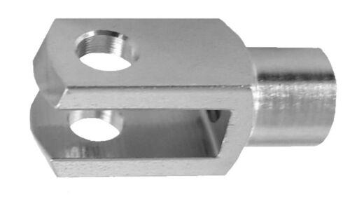 20 Stück Gabelkopf 4x8 0.58€//1Stk M4 ohne Bolzen DIN71751 verzinkt