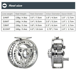 3-4-5-6-7-8-9-10WT-Fly-Fishing-Combo-CNC-Machined-Fly-Reel-Fly-Line