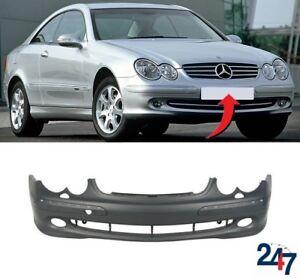 Mercedes Derniers Modèles >> Details Sur Neuf Mercedes Benz Clk C209 2002 2010 Pare Choc Avant Avec Lave Phare Trous