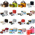 Lock and Lock Insulated Thermal Lunch Box Portable Picnic Storage Containers Bag