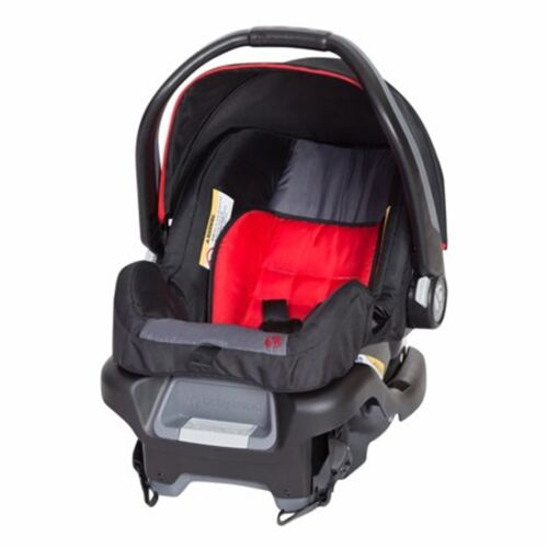 Baby Trend Sit n Stand Double Stroller with Infant Car Seat Combo Set Red//Black