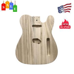 Polished-Maple-Wood-Electric-Guitar-Barrel-Body-Unfinished-DIY-Fr-TL-Guitar-F4L4