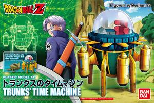 Maquette - Kit de modèle en plastique Dragon Ball Z Rise Standard Trunks Time Machine