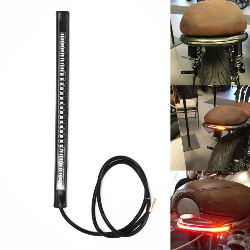 LED Strip LED Motorcycle License Plate Turn Signal lights for Bobber Cafe Racer