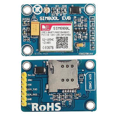 SIM Board  SIM800L GPRS GSM Module  Quadband  L shape Antenna for MCU Arduino