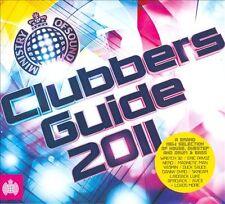 MINISTRY = clubbers guide 2011 = Tiesto/Afrojack/Aoki/Pryda..=2CD= groovesDELUXE