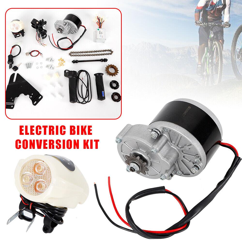 24V 36V 250W Electric Bike Conversion Kit Motor Controller For 22-29  Bicycle
