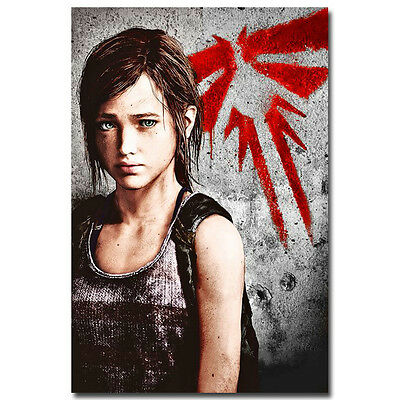 Hot Game The Last Of Us Silk Poster Art Print 20x30inch