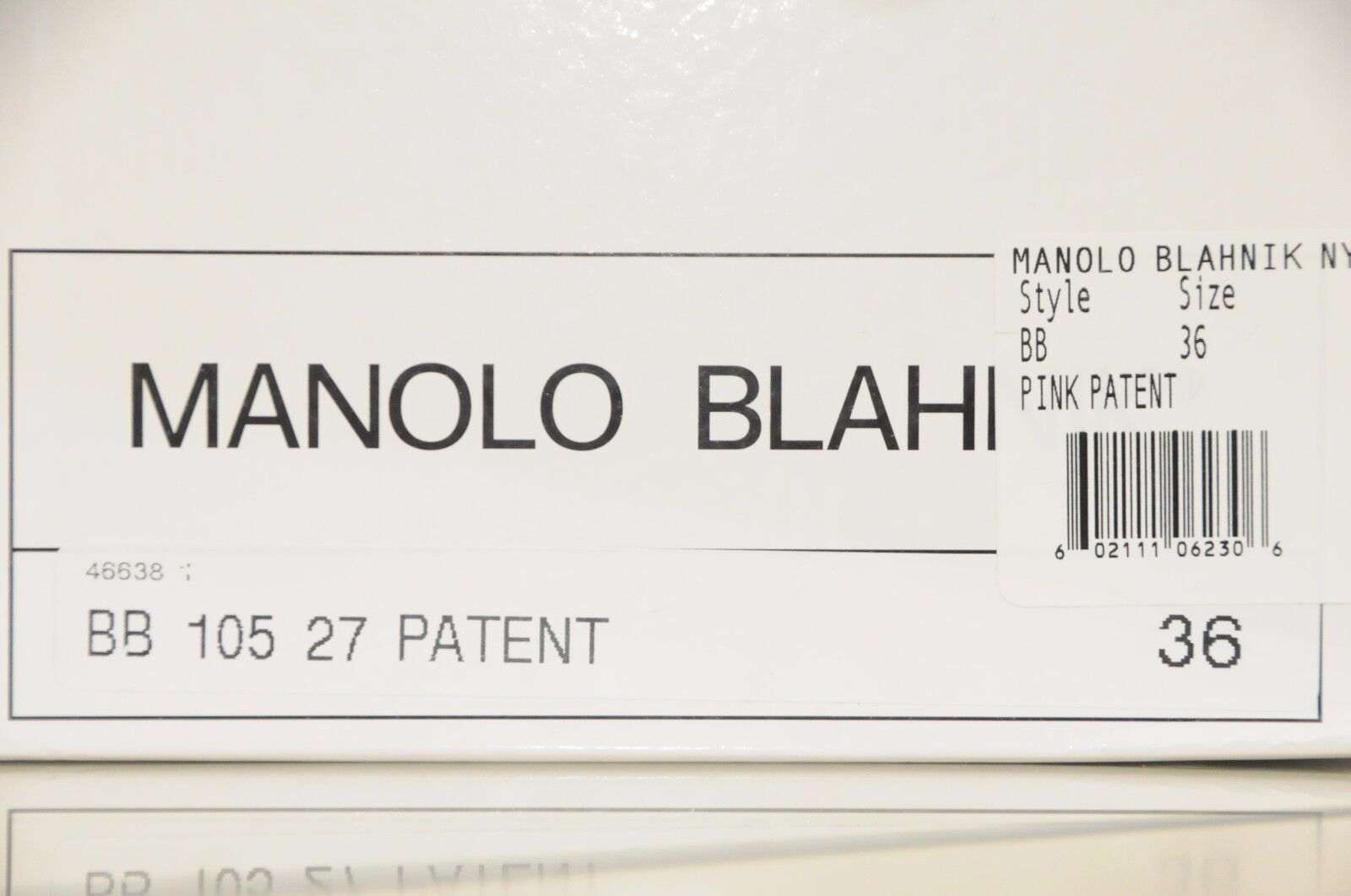 Neuf Femmeolo Blahnik Bb Vernies 105 Rose Pearly Chaussures Vernies Bb 36 36.5 38.5 39.5 40 46cce7