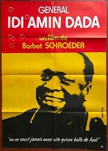 Plakat General Idi Amin Dada Barbet Schroeder 80x110cm
