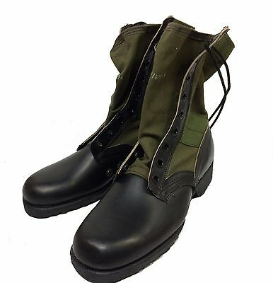 Vietnam Jungle Boots With Chevron Sole, 7R (regular)
