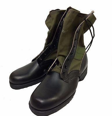 Vietnam Jungle Boots With Chevron Sole, 7R (regular)