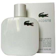 EAU DE LACOSTE BLANC PERFUM-LACOSTE 3.3 EDT SPR FOR MEN'S*COLOGNE NEW IN BOX*