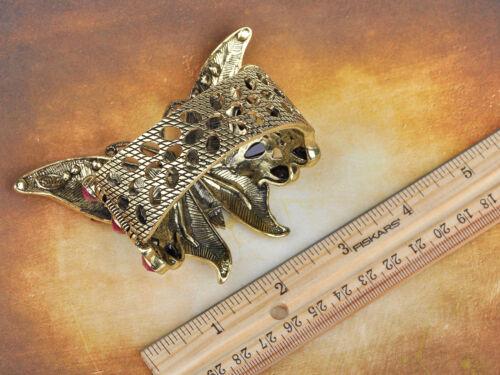 Golden Rose Pink Beads Genuine Crystal Rhinestone Butterfly Bracelet Bangle Cuff
