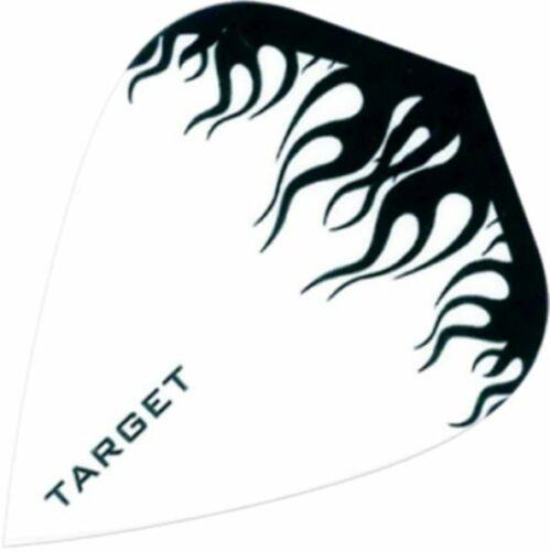 12 TARGET Dart Flights Dartflights Dartflys Flügel Flys Fly Kite Flamme 100 my