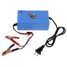 12V 6A Motorcycle Car Boat Marine RV Maintaine Battery Automatic Trickle Charger
