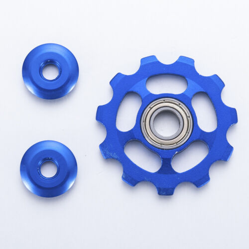 11T Aluminium Wheel Bicycle Rear Derailleur Pulley Guide Bearing 1 Set Tools