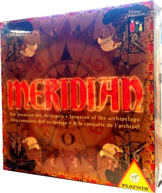 Meridian Die Invasion des Archipels NEU / OVP Strategiespiel Brettspiel Piatnik