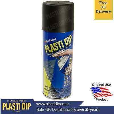 PlastiDip - Plasti Dip / Rubber Paint - Black Spray Aerosol 400ml - LARGER SIZE!