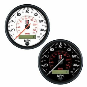 Stack-80mm-Professional-Programmable-Speedometer-0-260-Kph-White-Dial-Face