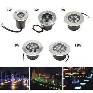 Image is loading LED-Underground-Light-IP67-Waterproof-Led-Lights-for-  sc 1 st  eBay & LED Underground Light IP67 Waterproof Led Lights for Outdoor Ground ...