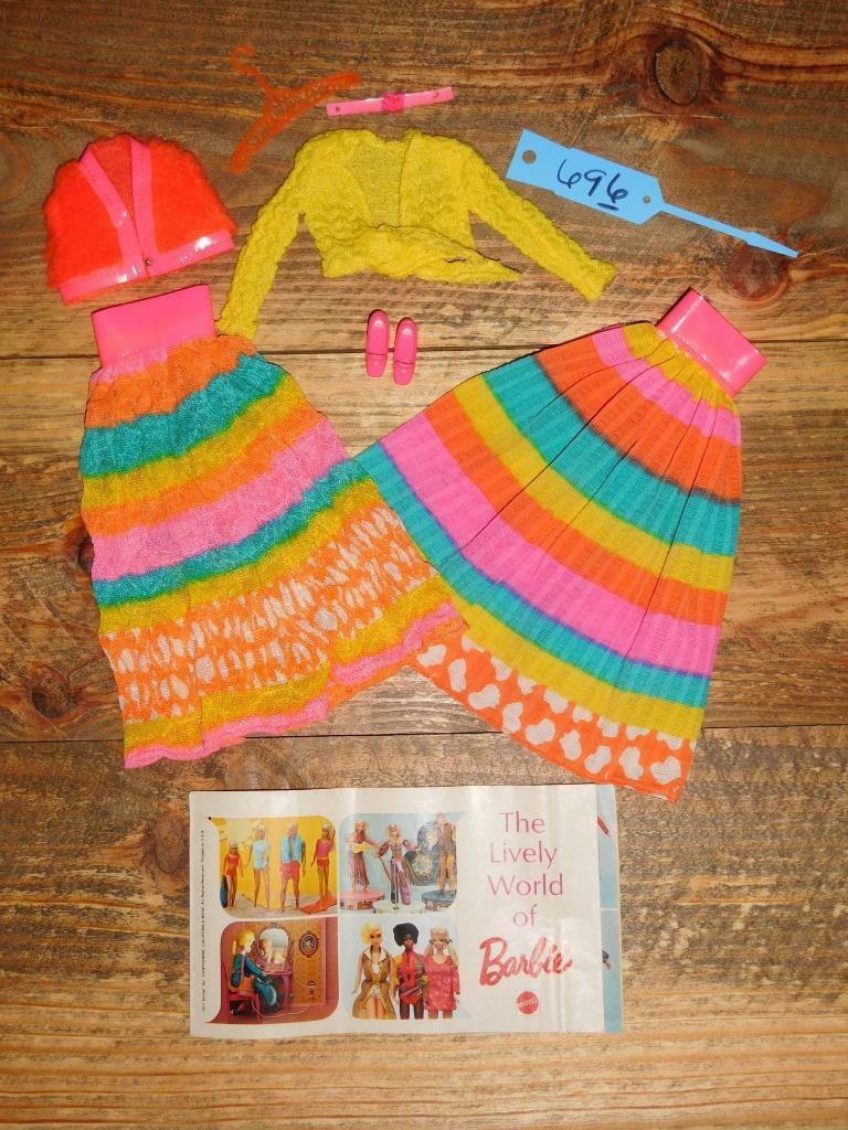 Vintage Barbie & Julia Complete  Flying Colors    Both Skirt Variations