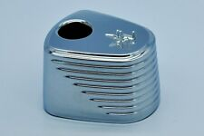 Custom Billet Chrome Ignition Cap Cover Pin Stripe Harley Touring Triglide Trike