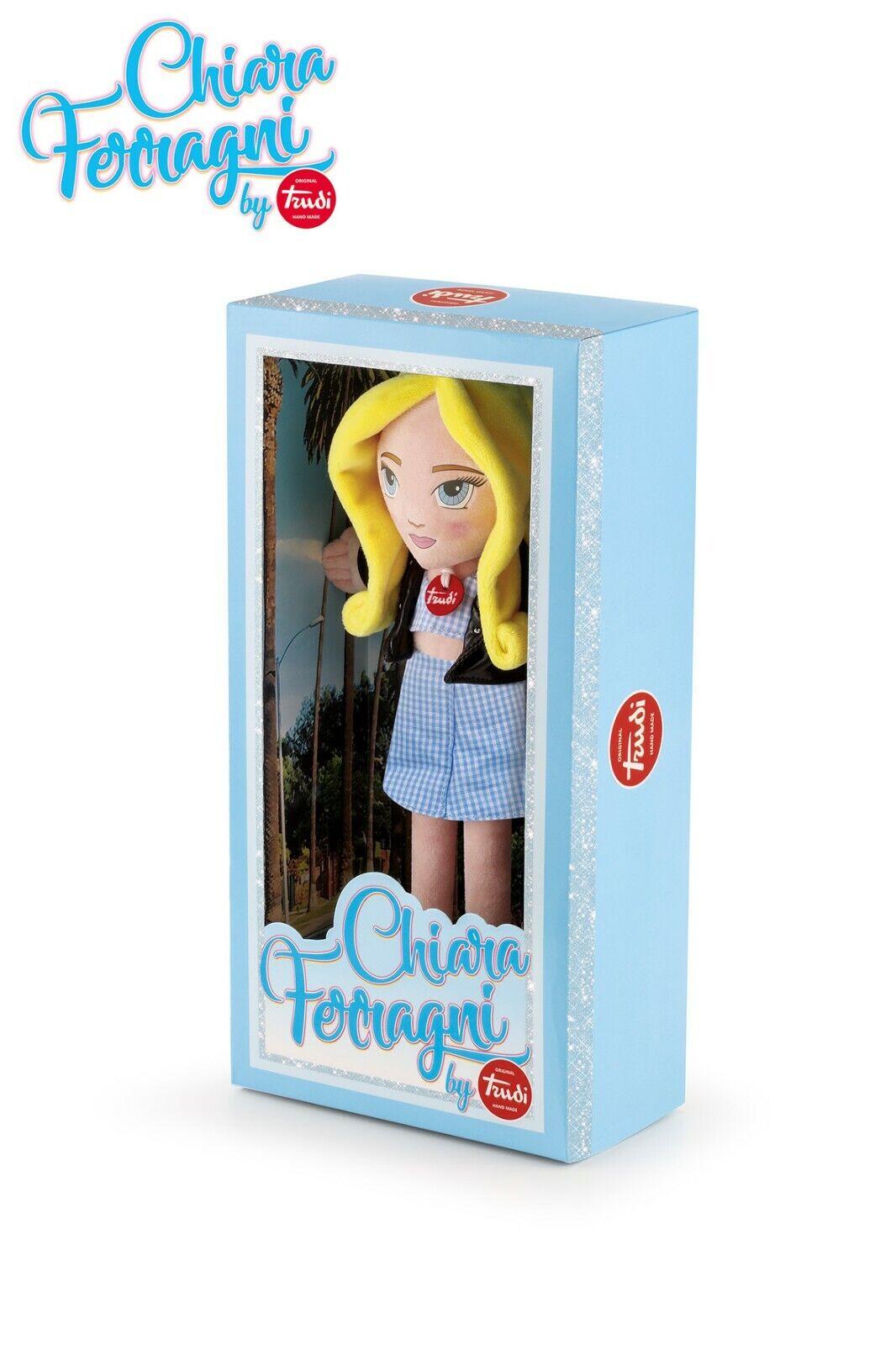 Trudi limited edition doll chiara ferragni bambola 69061 QwR