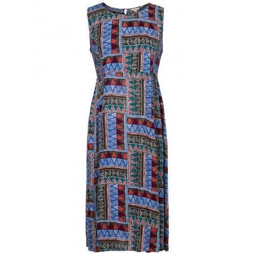 Fat Face Women's Connie Tribal Tribal Tribal Geo Dress LF087 CC 17 b85820