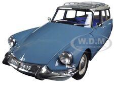 1967 CITROEN ID 19 BREAK MONTE CARLO BLUE 1/18 DIECAST CAR MODEL BY NOREV 181591