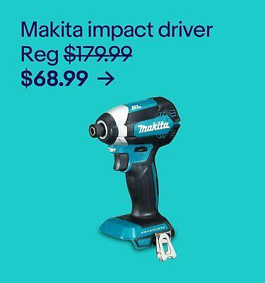 Makita impact driver $68.99