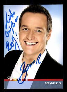 Bernd Fuchs Rtl Autogrammkarte Original Signiert Bc 91231 Ebay
