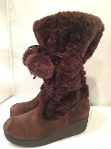 Report-Ella-Womens-Winter-Suede-Boots-Size-9