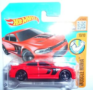 HOT-WHEELS-039-15-DODGE-CHARGER-SRT-DHP15-D5B5-MATTEL-5785
